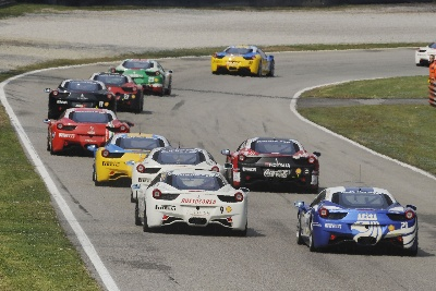Ferrari Challenge Europe Rolls Into The Czech Republic For Round Two