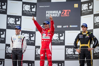 FDA: FUOCO DOES THE DOUBLE AT IMOLA