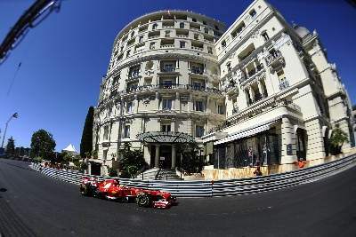 MONACO GP - ALL VERY CLOSE