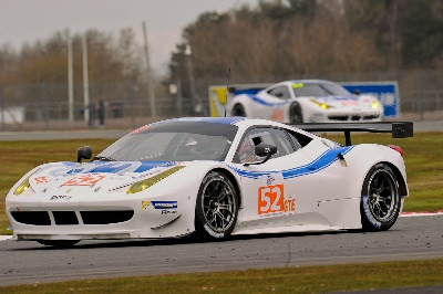 ELMS - 9 FERRARI'S HEAD FOR HOME RACE IN IMOLA