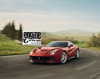 Ferrari Takes Best Performance Engine And Above 4-Litre Engine Accolades For The Third Year Running