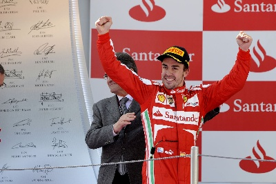 SPANISH GP - FIRST DOUBLE PODIUM OF THE YEAR