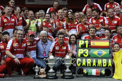 SPANISH GP - THE RED PHONE RINGS IN MONTMELO