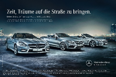 Mercedes-Benz launches campaign for its dream cars