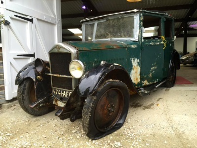 RARE 1930S MATHIS MOTORCAR EMERGES FROM HIDING IN FRANCE