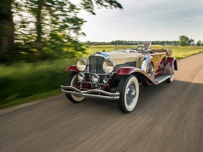 The Most Important Automobile Ever Offered By Auctions America At Auburn Fall - 1933 Duesenberg Model SJ 'Sweep Panel' Phaeton