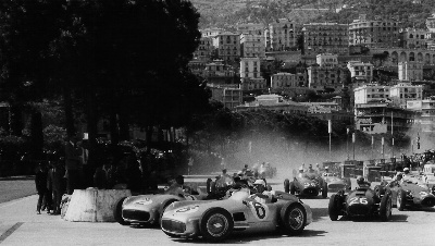 1955 Monaco Grand Prix: Trintignant 'Awash' in Monegasque Praise