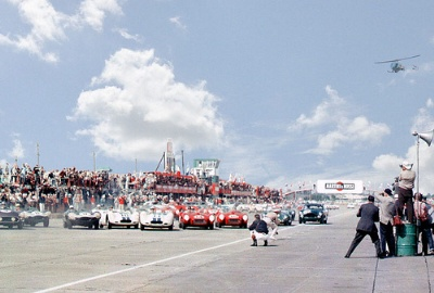 1958 12 Hours of Sebring: Collins and Hill Escort a Red-Head Home to Victory
