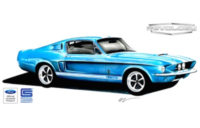 Revology to launch all-new 1967 Shelby GT500