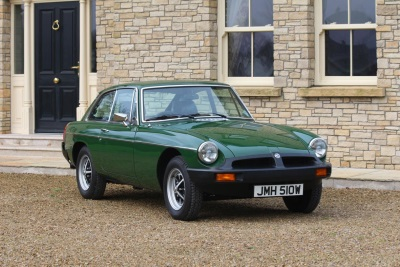 Preserved 1980 MG B GT To Take Auction-Goers Back In Time