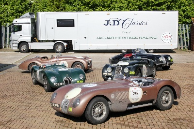 MILLE MIGLIA 2013: JD CLASSICS SUPPORTS FIVE JAGUAR HERITAGE RACING ENTRIES OVER 5000 TROUBLE-FREE MILES