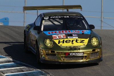 PORSCHE ON FRONT ROW IN ALMS GT QUALIFYING FOR SECOND CONSECUTIVE EVENT