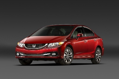 2013 Honda Civic Sedan Leads All Small Cars In Safety Ratings With Top Nhtsa And Iihs Crash Scores