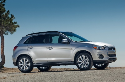 2013 Mitsubishi Outlander Sport Awarded Insurance Institute for Highway Safety (IIHS) TOP SAFETY PICK+