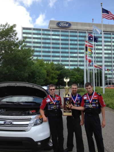 OREGON STUDENTS TAKE TOP PRIZE IN FORD/AAA AUTO SKILLS COMPETITION
