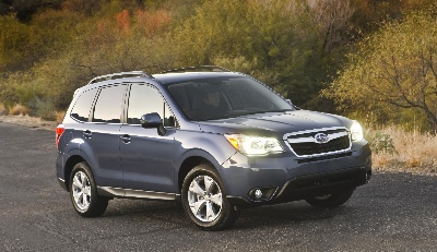 2014 SUBARU FORESTER ACES TOUGH NEW CRASH TEST; EARNS NEW IIHS 2013 TOP SAFETY PICK+ RATING