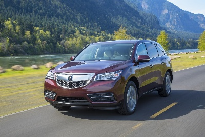2015 ACURA MDX NAMED KBB.COM BEST BUY: LUXURY SUV/CROSSOVER