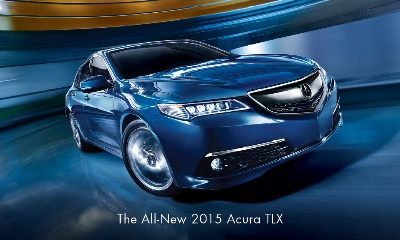 ACURA LAUNCHES ALL-NEW 2015 TLX PERFORMANCE LUXURY SEDAN WITH BIGGEST MARKETING CAMPAIGN IN BRAND HISTORY