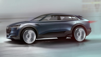 Outlook on series production – the Audi e-tron quattro concept at the IAA 2015
