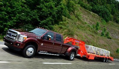 ULTIMATE TOWING MACHINE: 2015 FORD F-450 RATED BEST-IN-CLASS USING SOCIETY OF AUTOMOTIVE ENGINEERS J2807 STANDARD