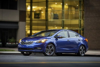 2015 KIA FORTE EARNS NHTSA 5-STAR SAFETY RATING