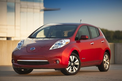 NISSAN LEAF SETS ANNUAL U.S. ELECTRIC VEHICLE SALES RECORD - AGAIN