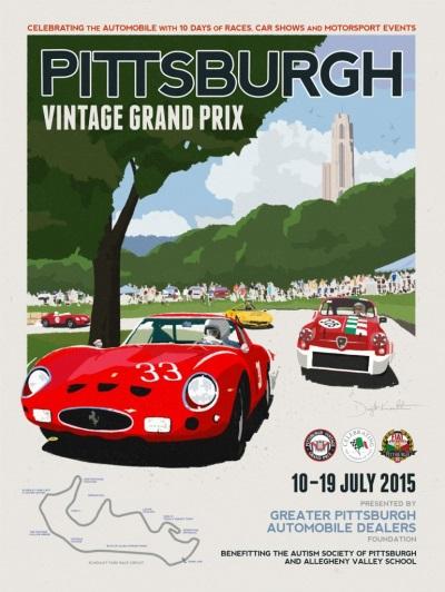 Racing Thru Schenley Park this Coming Weekend – July 18 & 19