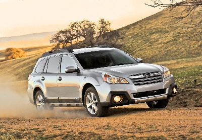 2015 SUBARU LEGACY AND OUTBACK VEHICLES EARN 2014 IIHS TOP SAFETY PICK+ AWARDS
