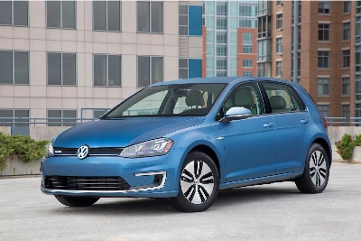 2015 VOLKSWAGEN E-GOLF RECOGNIZED AS MOST EFFICIENT CAR IN COMPACT EV CLASS