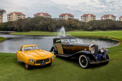 1952 Pegaso Z-102 BS 2.5 Cupula Coupe and 1930 Rolls-Royce Phantom II Town Car Win Best of Show at the 21st Annual Amelia Island Concours d'Elegance