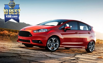 2016 FORD FIESTA NAMED AMONG 'TOP 10 COOLEST NEW CARS UNDER $18,000' BY KELLEY BLUE BOOK