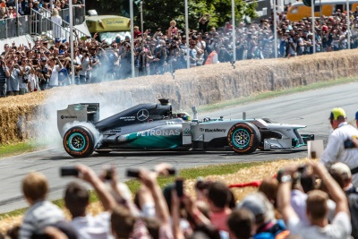 SEVEN 2016 FORMULA 1 TEAMS CONFIRMED FOR FESTIVAL OF SPEED