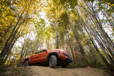 The All-New 2016 Toyota Tacoma Mid-Size Pickup is Ready to Rock on ... and Off-Road
