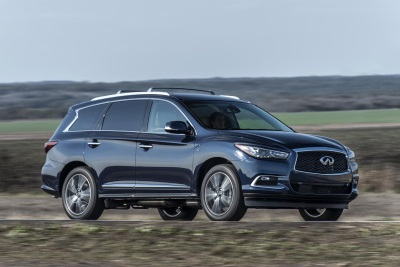 QX60 WINS BEST IN CLASS LUXURY SUV/CROSSOVER IN THE 2016 NEW ENGLAND MOTOR PRESS ASSOCIATION WINTER VEHICLE AWARDS