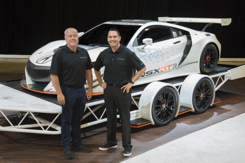 2017 Acura NSX GT3 Driver Lineup Features Talent, Experience