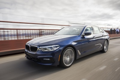 2017 BMW 5 Series Earns IIHS 'Top Safety Pick +'