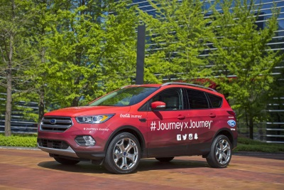 COCA-COLA BEGINS EPIC CROSS-COUNTRY ROAD TRIP IN CUSTOMIZED 2017 FORD ESCAPE