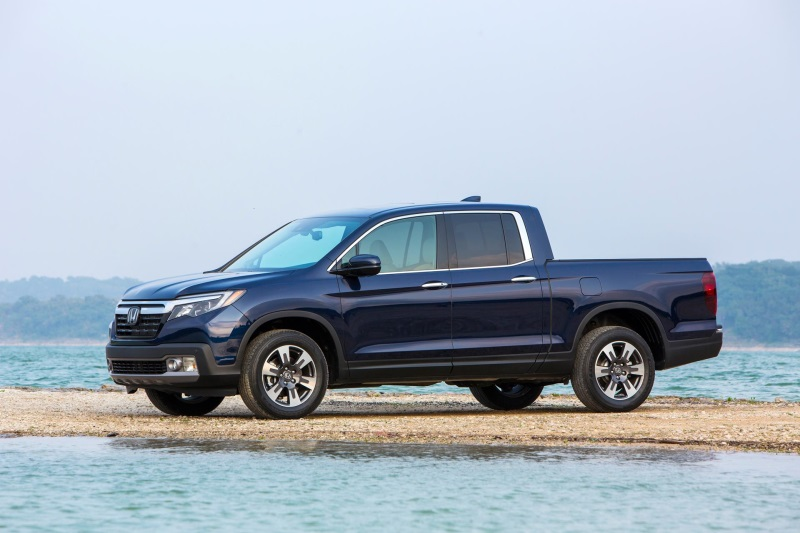 All-New, Innovative 2017 Honda Ridgeline Wins 'North American Truck of the Year' Award