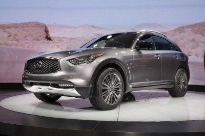 2017 INFINITI QX70 LIMITED DEBUTS AT THE NEW YORK INTERNATIONAL AUTO SHOW