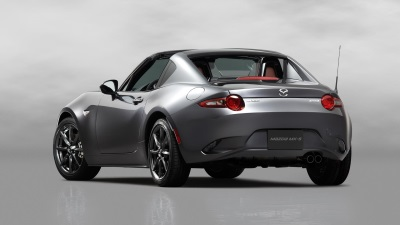 2017 MAZDA MX-5 MIATA RF PRICED FROM AN MSRP1 OF $31,555