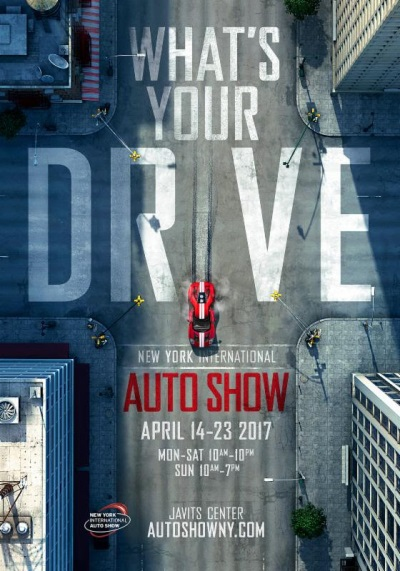 New York Auto Show Debuts Poster Art Asks: 'What's Your Drive?'