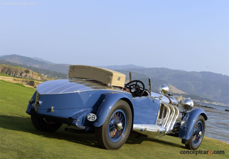 1929 Mercedes-Benz S Barker Tourer Named Best Of Show At The 67Th Pebble Beach Concours d'Elegance