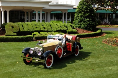 2017 Pinehurst Concours Best of Show