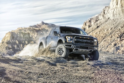 ALL-NEW FORD F-150 RAPTOR NAMED 2017 FOUR WHEELER PICKUP TRUCK OF THE YEAR