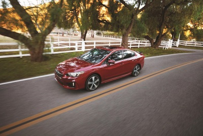 2017 Subaru Impreza Earns IIHS 2017 Top Safety Pick + Award