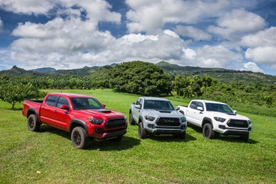 2017 Toyota Tacoma TRD Pro Named Mid-Size Pickup Truck Of Texas For The Second Straight Year