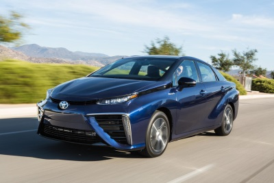 Toyota Announces 2017 Mirai Pricing