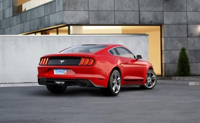 New Appearance Package For 2018 Mustang Puts Pony Logo Back In Chrome Corral