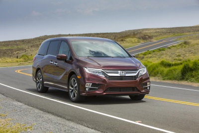 2018 Odyssey Minivan On-Sale Tomorrow; Delivers Ultimate In Family-Friendly Performance, Comfort And Connectivity