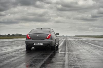 Gone In 44 Seconds: New Jaguar XJR575 Hosts 186MPH Interview